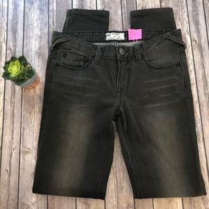 NWOT Free People Dark Gray Skinny Jeans Size 28